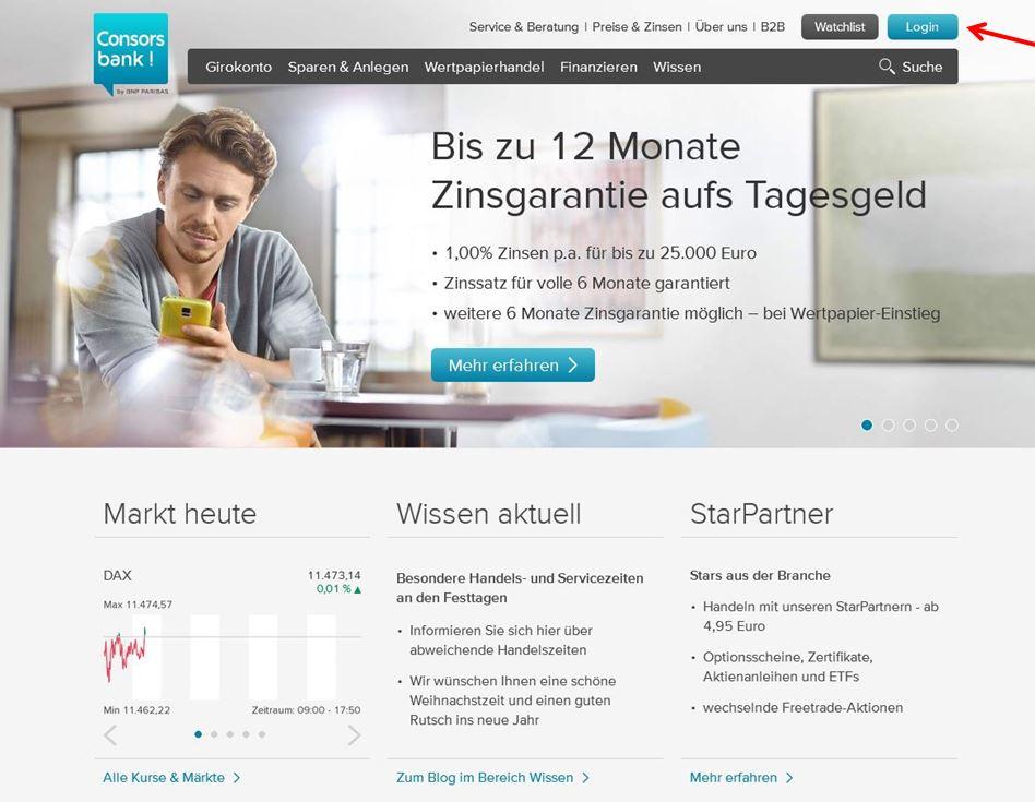 Consorsbank Login: Loggen Sie Sich In Ihr Konto/Depot Ein