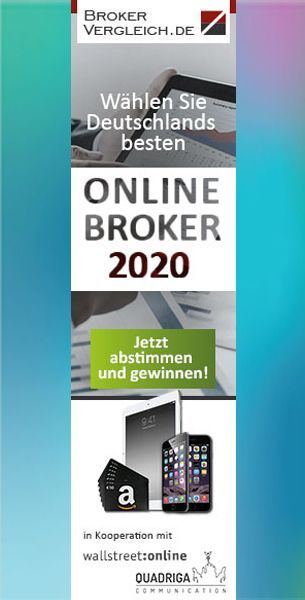 Zur Abstimmung der Online-Broker-Wahl 2020 | Brokervergleich.de